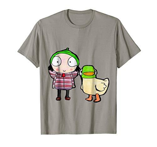 sarah and duck shirt