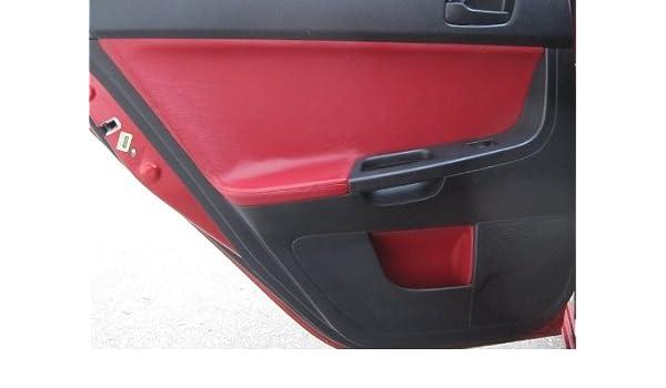 Amazon.com: RedlineGoods Mitsubishi Lancer Evo X 2008-15 insercion de puertas traseras de: Automotive