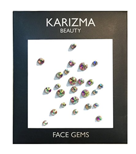 - Iridescent Crystal Face Gems ✮ BEAUTY ✮ Festival Face Jewels Indian Bindi