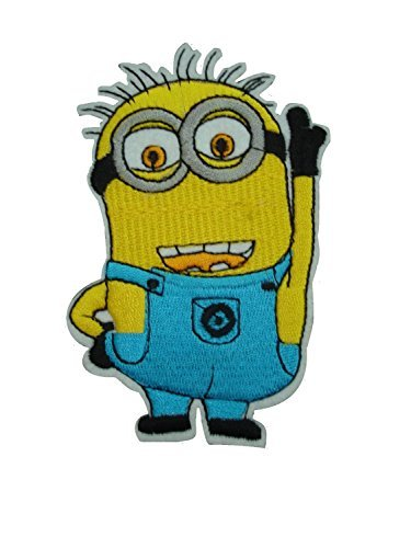 Iron on Sew on Patch: Despicable Me Minion (Jerry) -