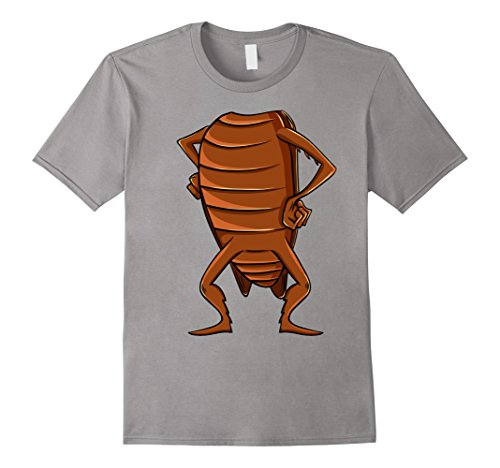 Mens Cockroach Costume T-Shirt for Halloween Cockroach Animal Tee Large (Cockroach Costume)