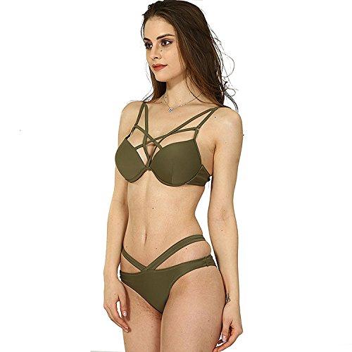 Bikini - Anzug,Army Green,S