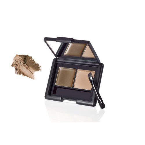 e.l.f. Studio Eyebrow Kit ASH Eye Brow Makeup Brush Mirror Girly ELF Fun Sexy - E L F Makeup Kit