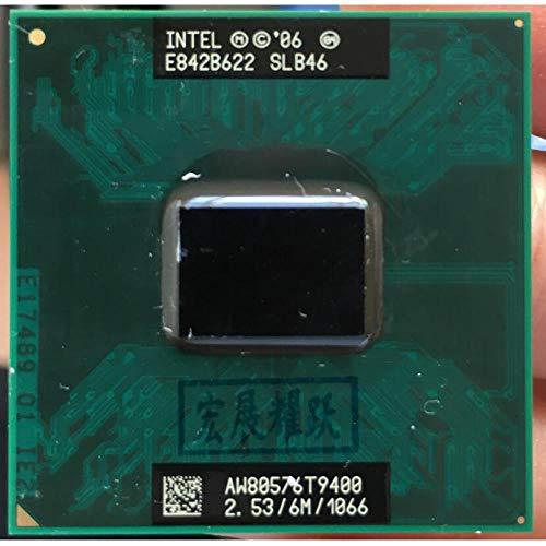 (Intel Core 2 Duo T9400 CPU Laptop Processor PGA 478 CPU 100% Working Properly)