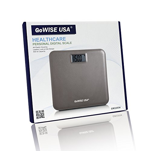 Gowise usa electronic personal digital scale w step on for Gowise usa