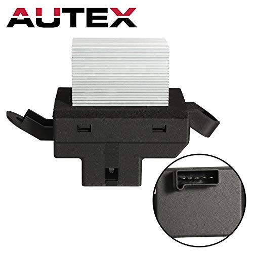 - AUTEX ATC HVAC Blower Motor Resistor Compatible with Chevy Malibu 04-12,Pontiac G6 05-10 Replacement for Saturn Aura 07-09 RU374 1580569 1581687 20899741 JA1571