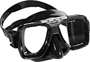 Cressi Tropical Diving Mask for All Face Shapes- for Freediving, Snorkeling, and Scuba Diving