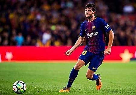 Desconocido Sergi Roberto FC Barcelona la Liga España Fútbol Póster 11000 (A3-A4-A5) - A4: Amazon.es: Hogar