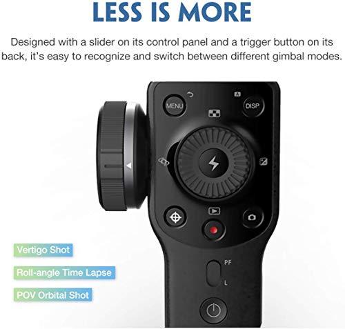 Zhiyun Smooth 4 3-assi stabilizzatore di cardano compatibile, Vertigo Shoot Focus Phonego Mode Focus Pull & Zoom… 3 spesavip