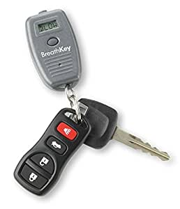 BreathKey Keychain Breath Alcohol Tester with Professional Grade Fuel Cell Sensor - World's Smallest Breathalyzer