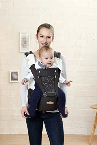 Baby Carrier Multifunctional Backpack Sling (Pink) - 3
