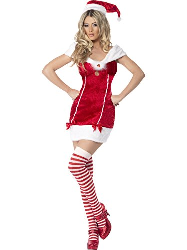 Large Ladies Miss Santa Costume