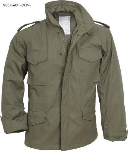 M65 Fieldjacket - Outdoor Parka Feldjacke -, oliv, S