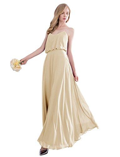 formal spaghetti strap dress - 5