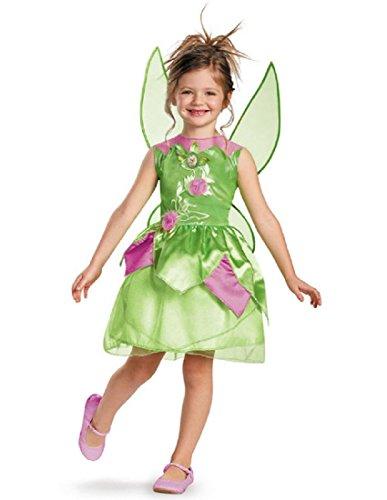 Disney Fairies Tinker Bell Classic Girls Costume, 4-6X