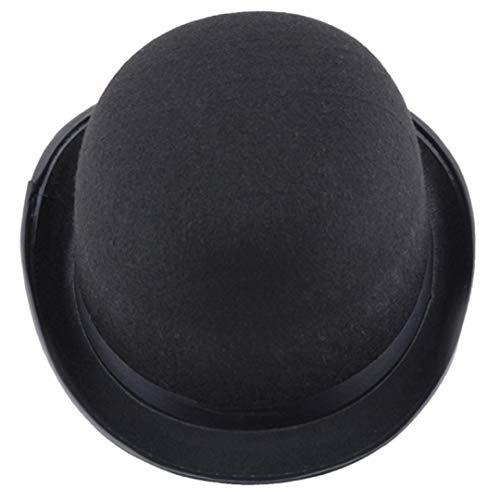 Respctful Halloween Hat, Fashion Magician Black Costume Accessories (Black)