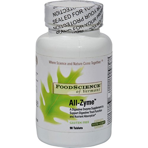 FoodScience of Vermont All-Zyme - 90 Tablets All Zyme 90 Tablets
