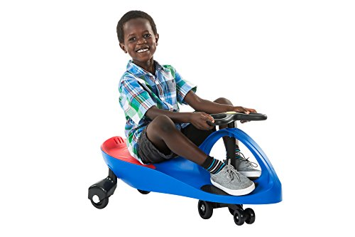 The Original PlasmaCar by PlaSmart - Blue - Ride On Toy, Ages 3 yrs and Up, No batteries, gears or pedals, Twist, Turn, Wiggle for endless fun