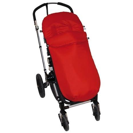 Paseo Pekebaby: Saco Silla Paseo Entretiempo (Universal - Bugaboo - MacLaren) Liso Rojo: Amazon.es: Bebé