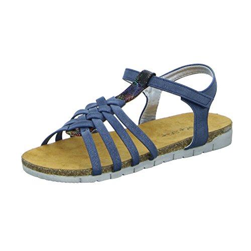 Pep Step  1004734, Sandales pour fille bleu Blau (Blau)