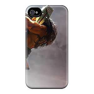 High Quality Masked Warrior Case For Iphone 4/4s / Perfect Case