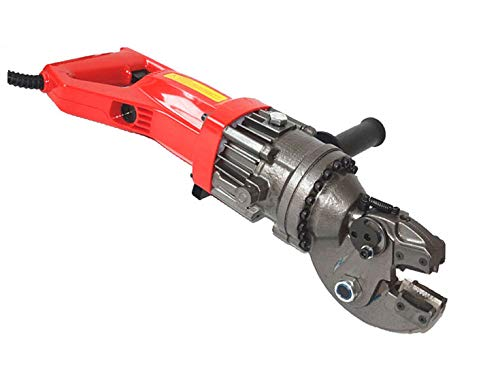 CCTI Portable Rebar Shear Cutter - Electric Hydraulic Cut Up to 18 mm Rebar, Round Bar, Chain, Bolt(Model: RS-18C)