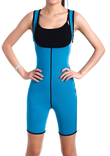 ValentinA Slimming Sweat Bodysuit Hot Neoprene Thermo Shapers for Weight Loss Womens