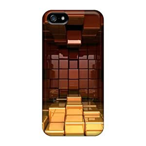 Ideal Cases Covers For Iphone 5/5s(cube Chamber 03), Protective Stylish Cases