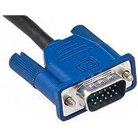Modavela Cable VGA DE 1.5 hasta 30 Metros (VGA 20 Metros, Negro)