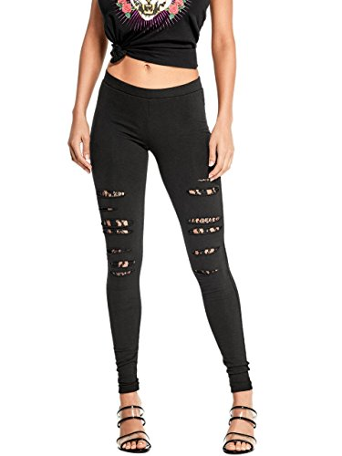 Destroyed G By Guess Leggings Jet Lace Black FE1Erxwqp