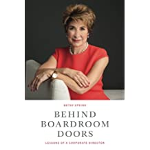 Behind Boardroom Doors:: Lessons from a Corporate Director