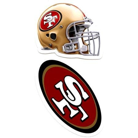 - San Francisco 49ers Auto Decals 2 Pack - 4