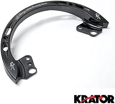 Krator Black Passenger Grab Bar Rail for Suzuki GSXR 1300 Hayabusa 1999-2007 Handle Rail 1999 2000 2001 2002 2003 2004 2005 2006 2007