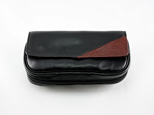 Skyway Santino Leather 2 Pipe Tobacco Pouch Case