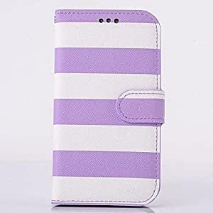 LIMME Fashion PU Leather Rainbow Full Body Case with Stand for SAMSUNG GALAXY S4 I9500