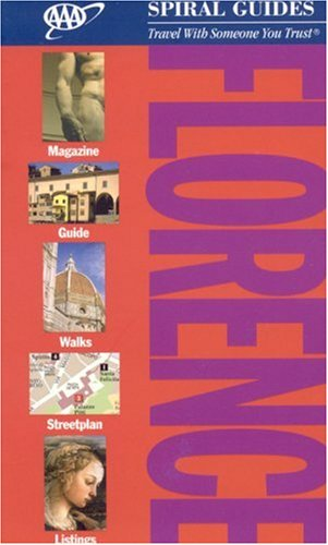 AAA Spiral Florence (AAA Spiral Guides) -