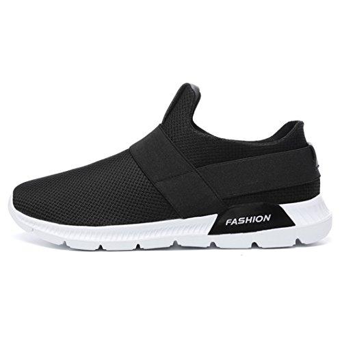 Negro de Ligero Peso Zapatos de Negro Zapatillas Zapatillas Hombres Hombre 0816bc