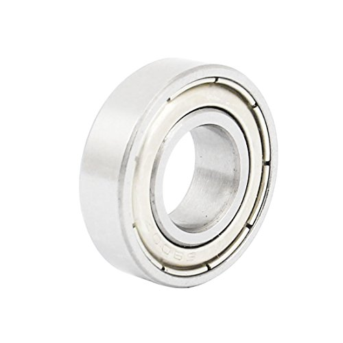 uxcell 6900Z 10 x 22 x 6mm Metal Shielded Sealed Deep Groove Ball Bearings