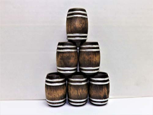 G Scale Whiskey Barrels 1:24 Real Wood Diorama Set for sale  Delivered anywhere in USA