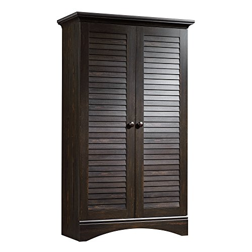 Rod Closet Finish - Sauder 416797 Harbor View Storage Cabinet, L: 35.43