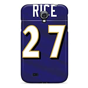 ErleneRobinson Samsung Galaxy S4 Protective Cell-phone Hard Cover Provide Private Custom High Resolution Baltimore Ravens Pattern [wAH26166cIZq]
