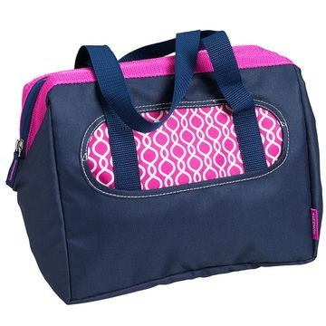 Thermos Raya Lunch / Can Duffle Navy and Magenta