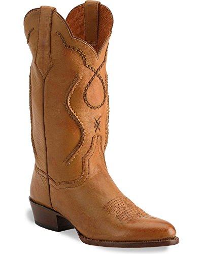 Dan Post Men's Albany Western Boot,Palomino,9 D US (Mens Albany Shoe)