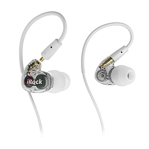 Granvela A8 Dual Driver in-Ear Earphones, Wired Stereo Sport Earbuds with Mic and Noise-isolating Headphones,Dynamic Crystal Clear Sound, Ergonomic Comfort-Fit for Running, Workout, Gym