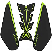 RONGLINGXING New Motorcycle Tank Pad Protector Sticker Decal Gas Fuel Knee Grip Traction Side for Kawasaki Z400 z400 Color : 2