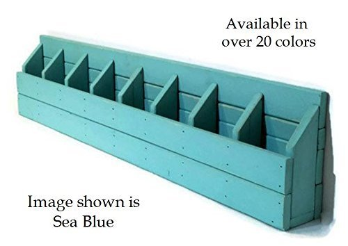 Renewed Décor School House Wall Cubbies featuring a modern rustic design with 8 storage bins available in over 19 colors