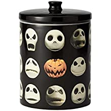 "Enesco 6001019 Disney Ceramics ""Nightmare Before Christmas"" Jack Cookie Jar, 9.25 inch, Black"