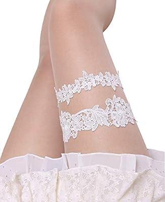 Wedding Garters for Bride Garter Set for Bride Blue Wedding Garter Belts Lace Bridal Garter 2 Piece Plus Size