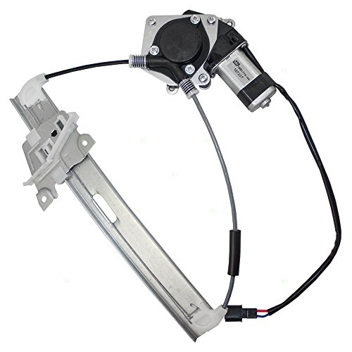Power Window Lift Regulator with Motor Assembly Driver Rear Replacement for 08-12 Ford Escape 08-11 Mercury Mariner SUV 8L8Z 7827001 A