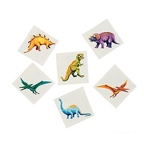 Fun Express Cool Dinosaur Tattoos (6 Dozen) ()